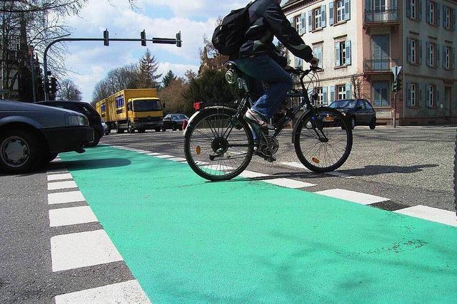 Offenburg rutscht beim Fahrradklimatest ab