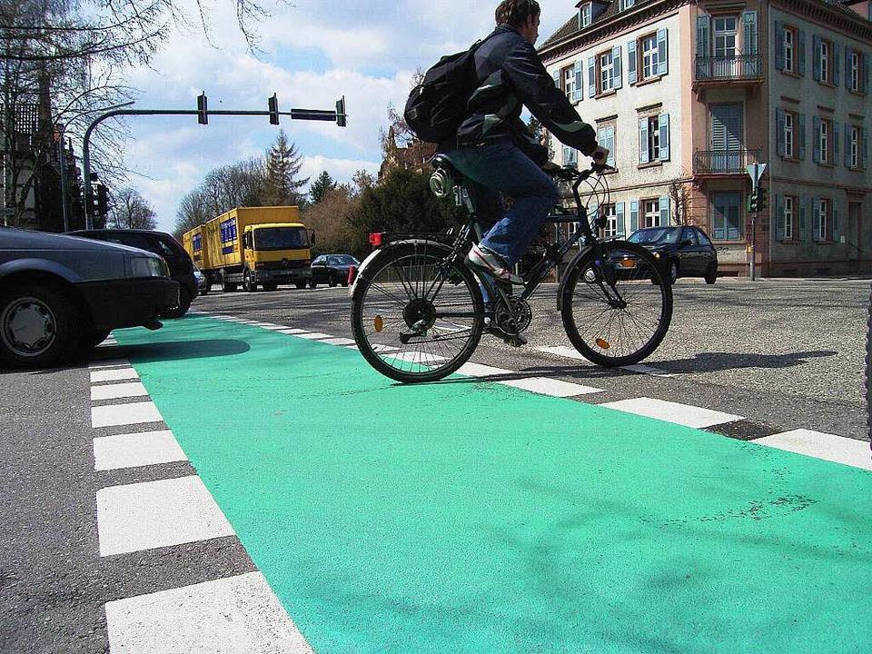 Die Offenburger haben die Fahrradfreun...it ihrer Stadt schon besser beurteilt.    Foto: Helmut Seller