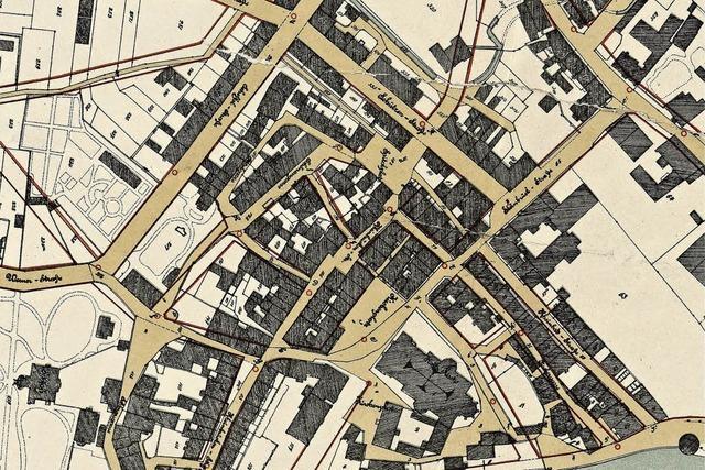 Städtebau auf dem Reißbrett