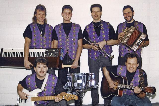 Seit 25 Jahren Fasnacht mit der Band