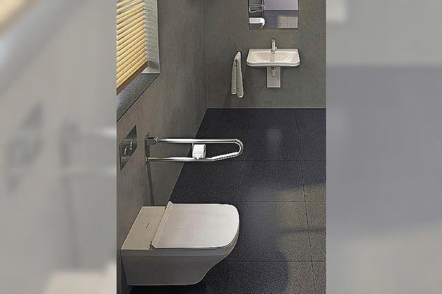 Ausreichend Bewegungsfreiheit im Badezimmer