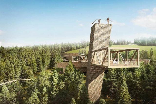 Spektakuläres Besucherzentrum für Nationalpark Schwarzwald geplant