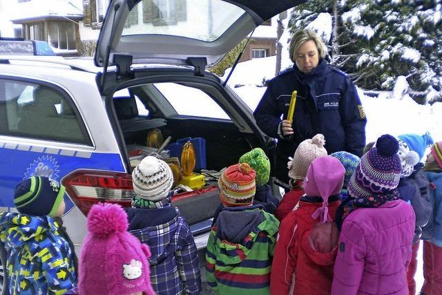 Polizei im Kindergarten Bettmaringen