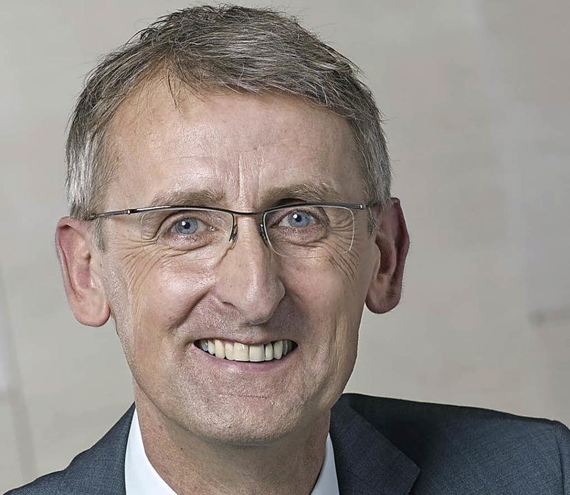 Der Lörracher Abgeordnete Armin Schust...ert die Methoden der Schlepperbanden.     Foto: Nottbrock