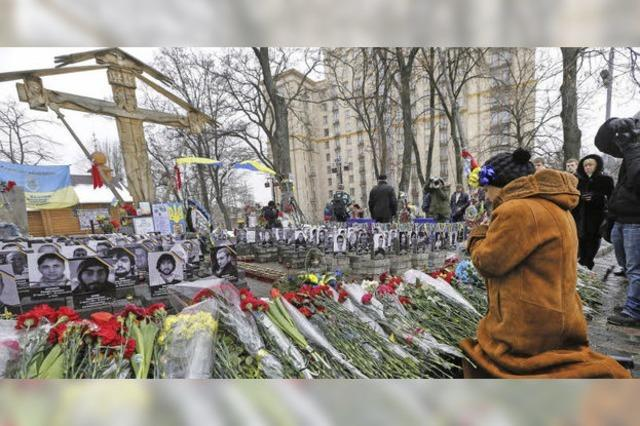 Wer schoss auf dem Maidan?