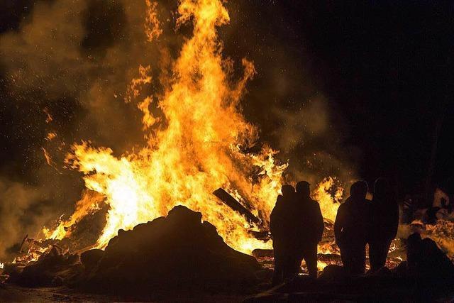 Feuerfunken über Grafenhausen