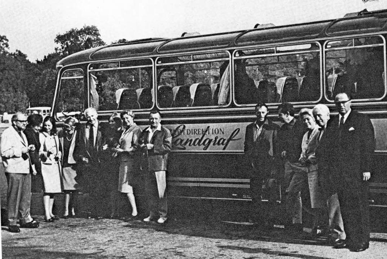 Mitarbeiter der Konzertdirektion Ende der 1950er Jahre    Foto: Privat