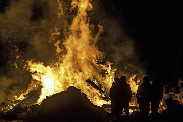 Fasnetfeuer hat eine lange Tradition