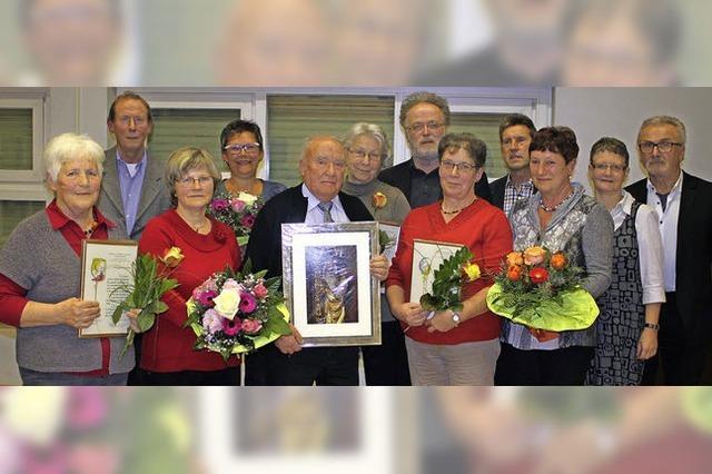 Sieben aktive Jahrzehnte im Chor