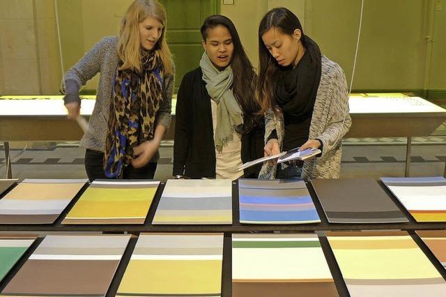 Ausstellung eines Projekts der Schule für Gestaltung in Basel