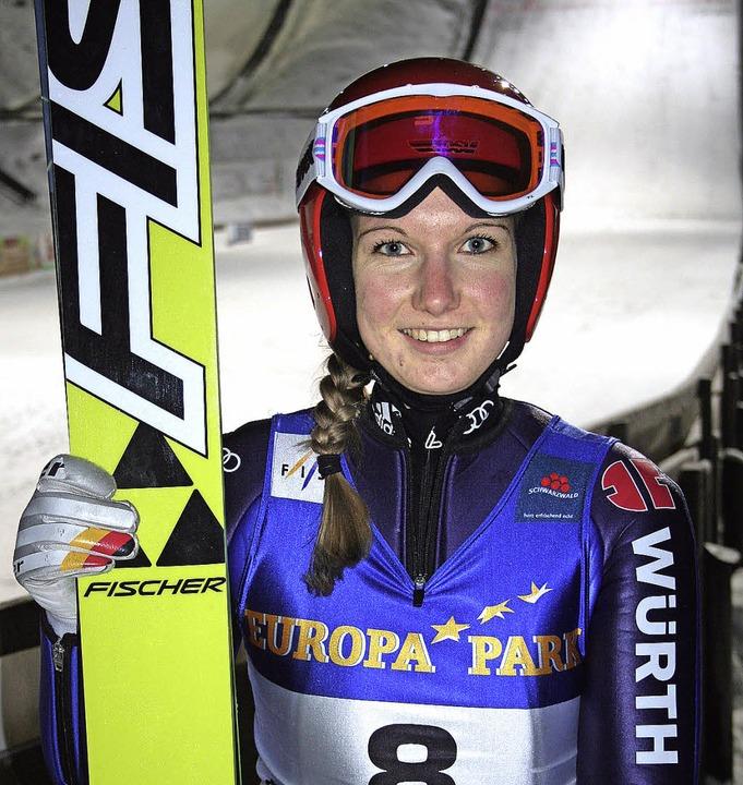 Mit zwei Siegen beim finalen FIS-Ladie...bronn die erfolgreichste Teilnehmerin.  | Foto: maurer