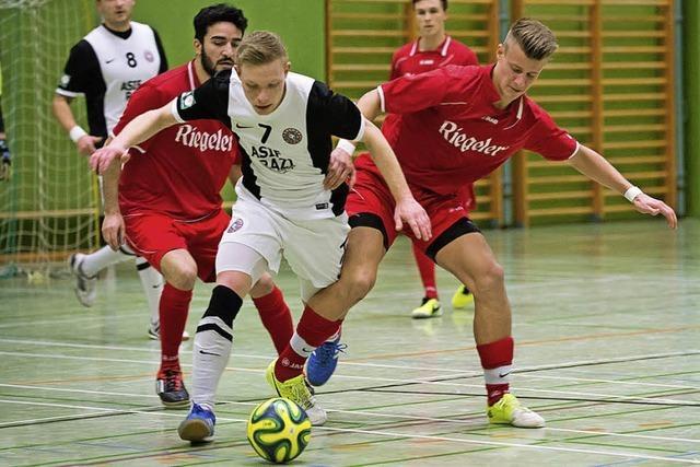 Frankfurt im Futsal zu stark