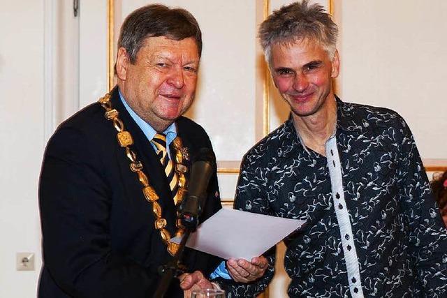 Waldkircher Kulturpreis für Markus Klausmann
