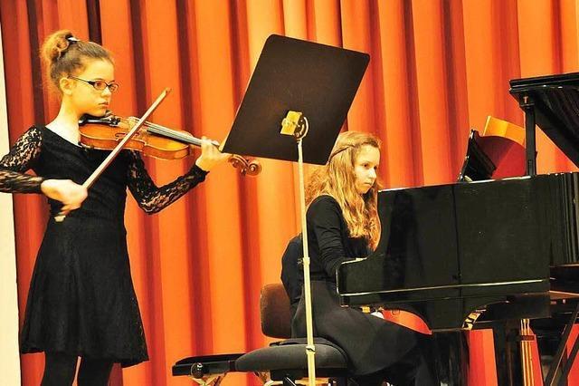 Meisterkurs an der Lahrer Musikschule