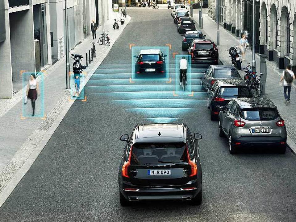 Auffahrunfälle können vermieden werden...ler der Versicherung gemeldet werden?   | Foto: Volvo
