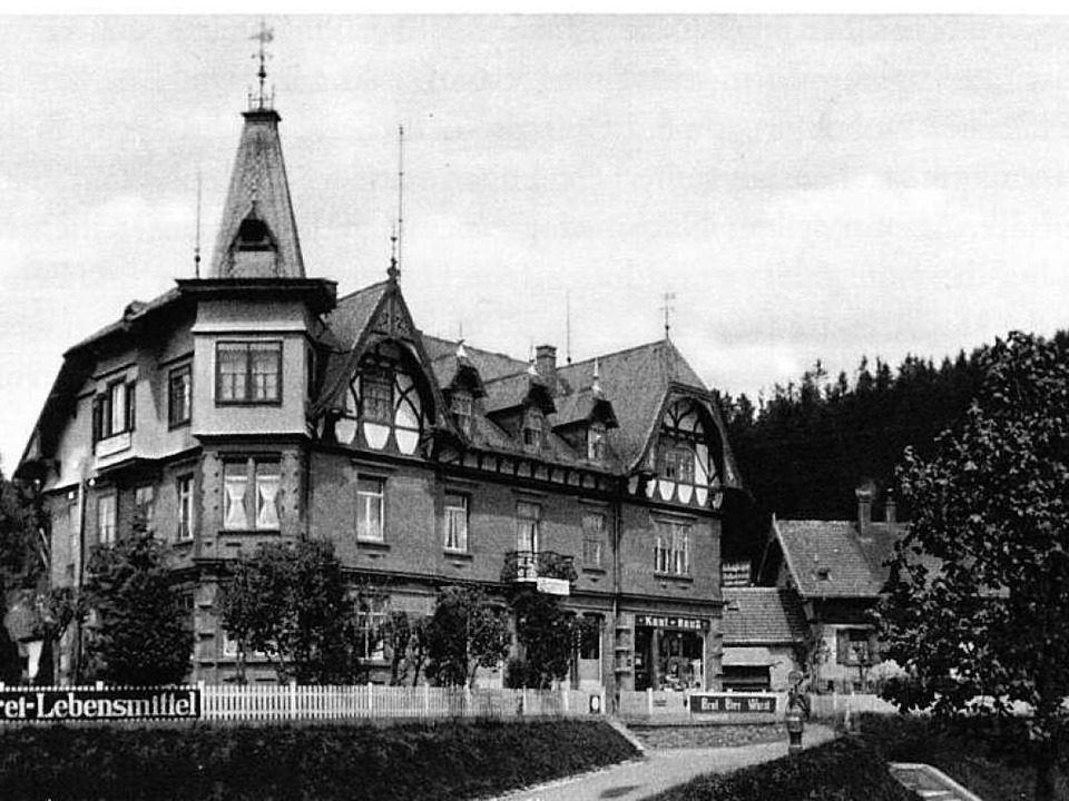 Das Haus Greiner in  Titisee vor<ppp> </ppp>  | Foto: privat