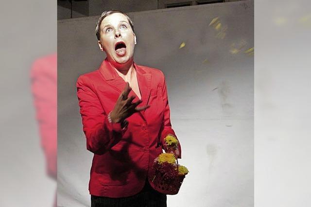 Sue Solo im Freiburger Theater Nuage Fou