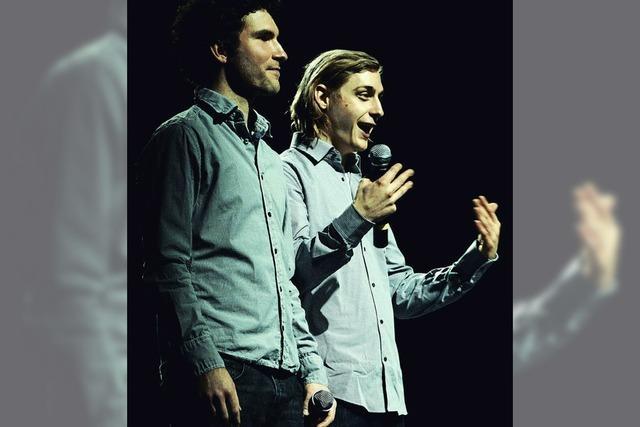 Beatbox-Duo Acoustic Instinct im Schloss Ebringen