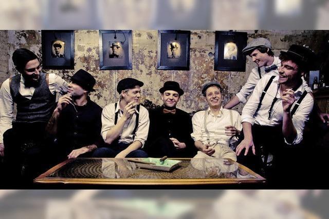 The Huggee Swing Band im KiK Offenburg