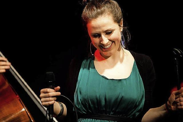 Neele & The Sound Voyage in Freiburg
