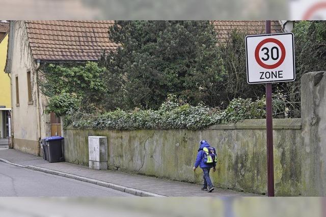 Gemeinderat will Tempo 30 für alle Ortsteile