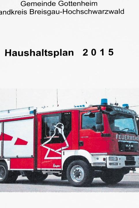 Das neue Löschfahrzeug steht im Haushalt.   | Foto: M.Schöneberg
