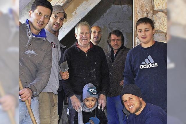 Renovierungsaktion für Flüchtlinge