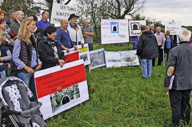 Bürgerinitiative über Pläne im Autobahnabschnitt Karsau - Minseln beunruhigt