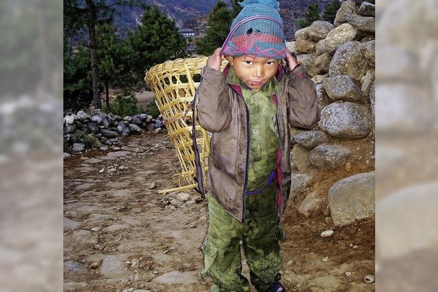 Bei den Sherpas in Nepal