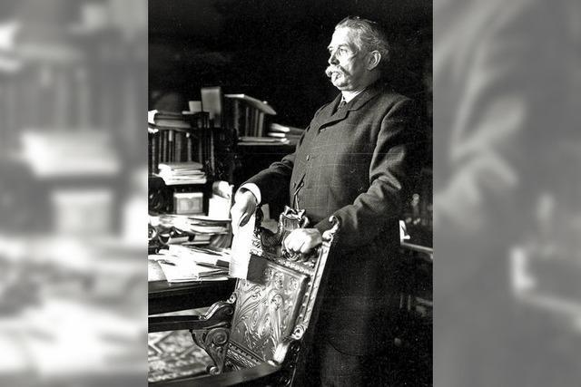 Vor 100 Jahren starb der bedeutende Oberbürgermeister Otto Winterer