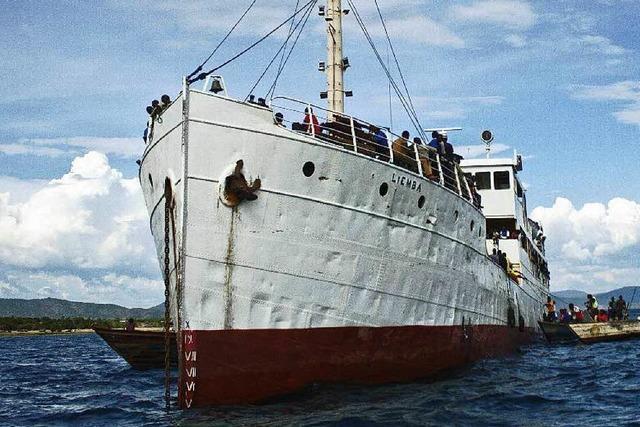 Deutsches Schiff seit hundert Jahren in Tansania im Einsatz