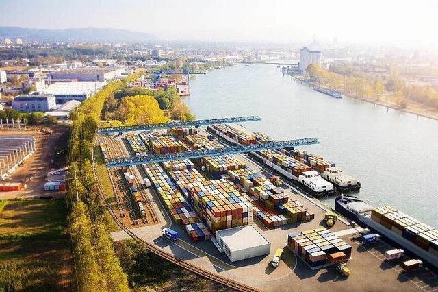 Basler Firmen wollen im Weiler Hafen investieren