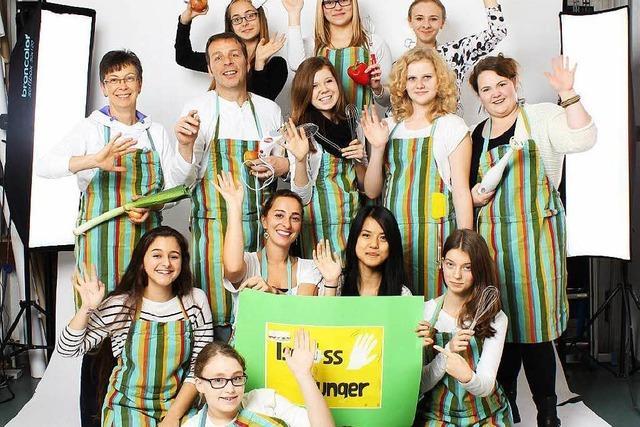 Schülerfirma verköstigt Besucher der Lahrer Messe Beruf & Co.