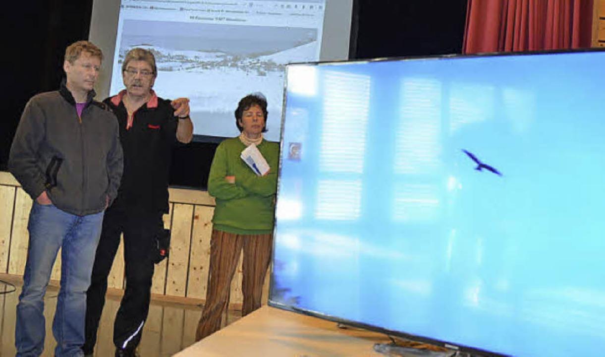 Der Film der Windkraft-Gegner dreht si...m den Roten Milan und den Artenschutz.  | Foto: André Hönig