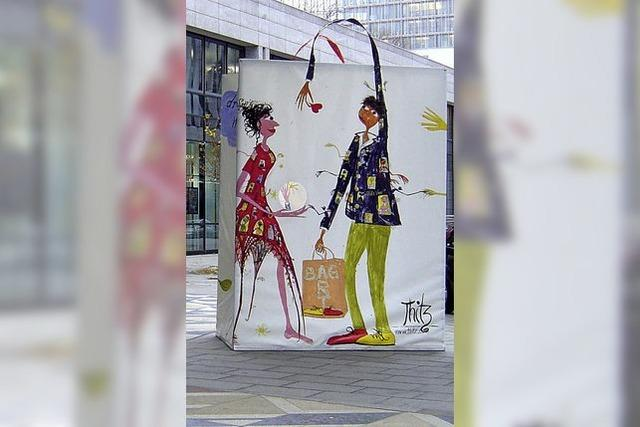 Tütenbilder und Aquarelle von Thitz in der Städtischen Galerie Lahr