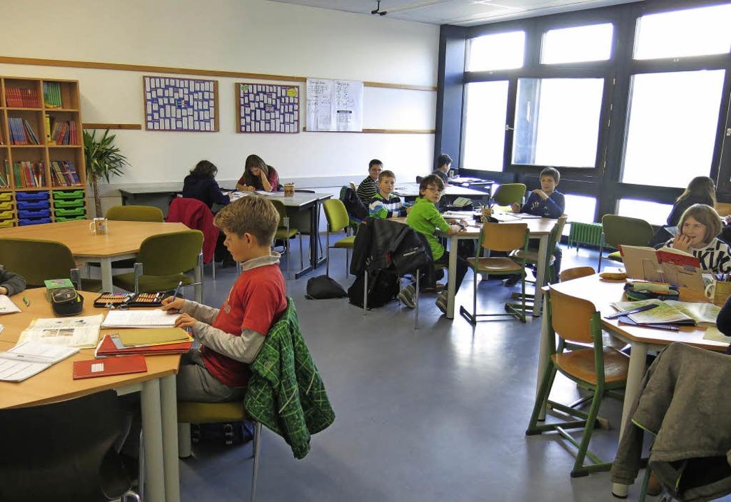 Sieht nicht mehr ganz nach Klassenzimmer aus: die neuen Räumlichkeiten  | Foto: Georg Voß