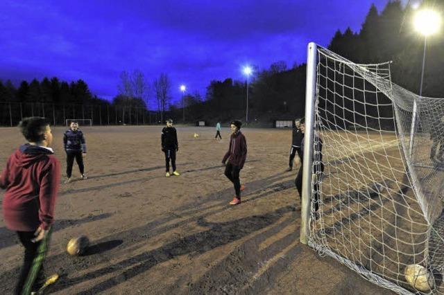 Kappels Fußballer wollen eine neue Flutlichtanlage