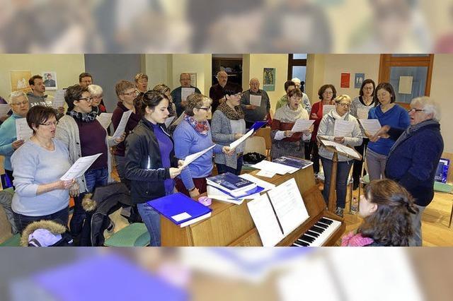 Konzert des Kirchenchores Birkendorf