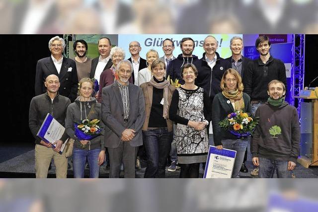 Zum zweiten Mal sind die Klima- und Naturschutzpreise der Stadt Freiburg vergeben worden