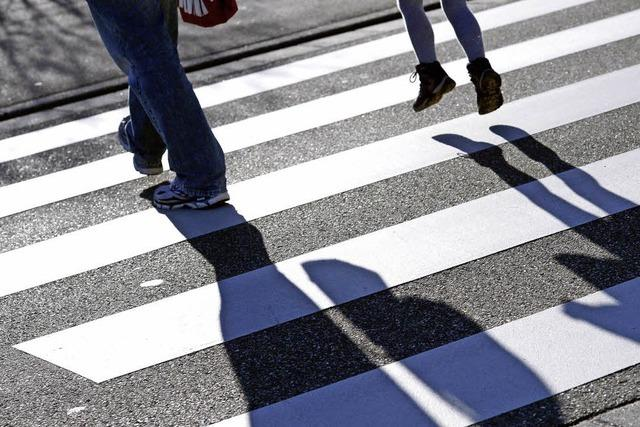 Mehr Aufmerksamkeit für Fußgänger