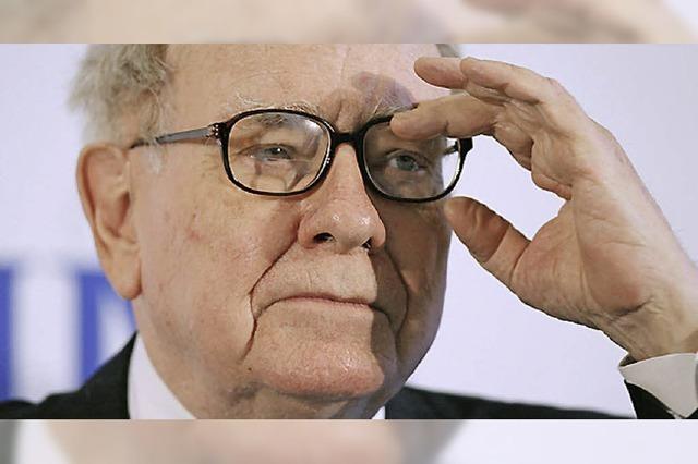Warren Buffett ernährt sich mit Cola und Eis zum Frühstück