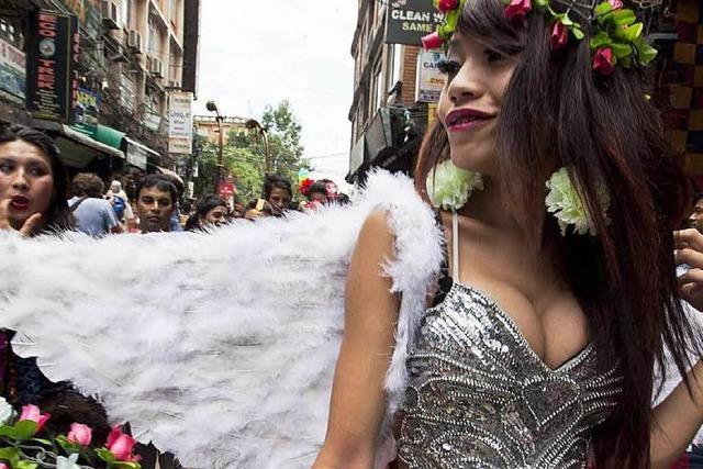 Nepal geht mit Homosexualität fortschrittlich um – noch