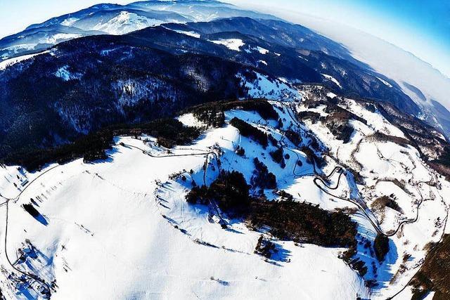 So schön sehen Schwarzwald und Rheintal von oben aus