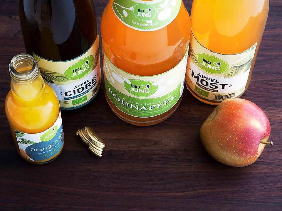 Vollmundig und frisch: Säfte und Cidre aus Streuobst  | Foto: wissing
