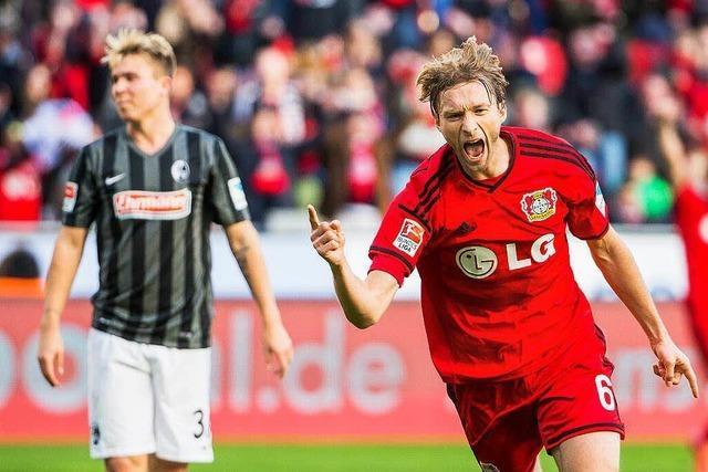 Der SC Freiburg verliert in Leverkusen mit 0:1