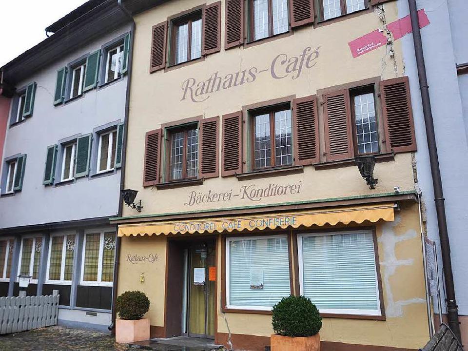 Schon Ende Dezember hat Karl Guth, der... Rathaus-Cafés, das Handtuch geworfen.  | Foto: Rainer Ruther