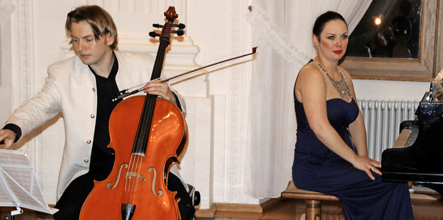 Seit neun Jahren bilden Alina Kabanova...Provinz, z.B. St. Blasien, zu spielen.    Foto: Margrit Matyscak