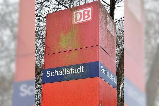 Schallstadt kämpft um seinen Zughalt