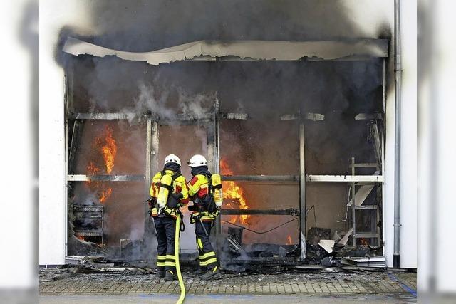 Kripo ermittelt nach Brand bei Golz