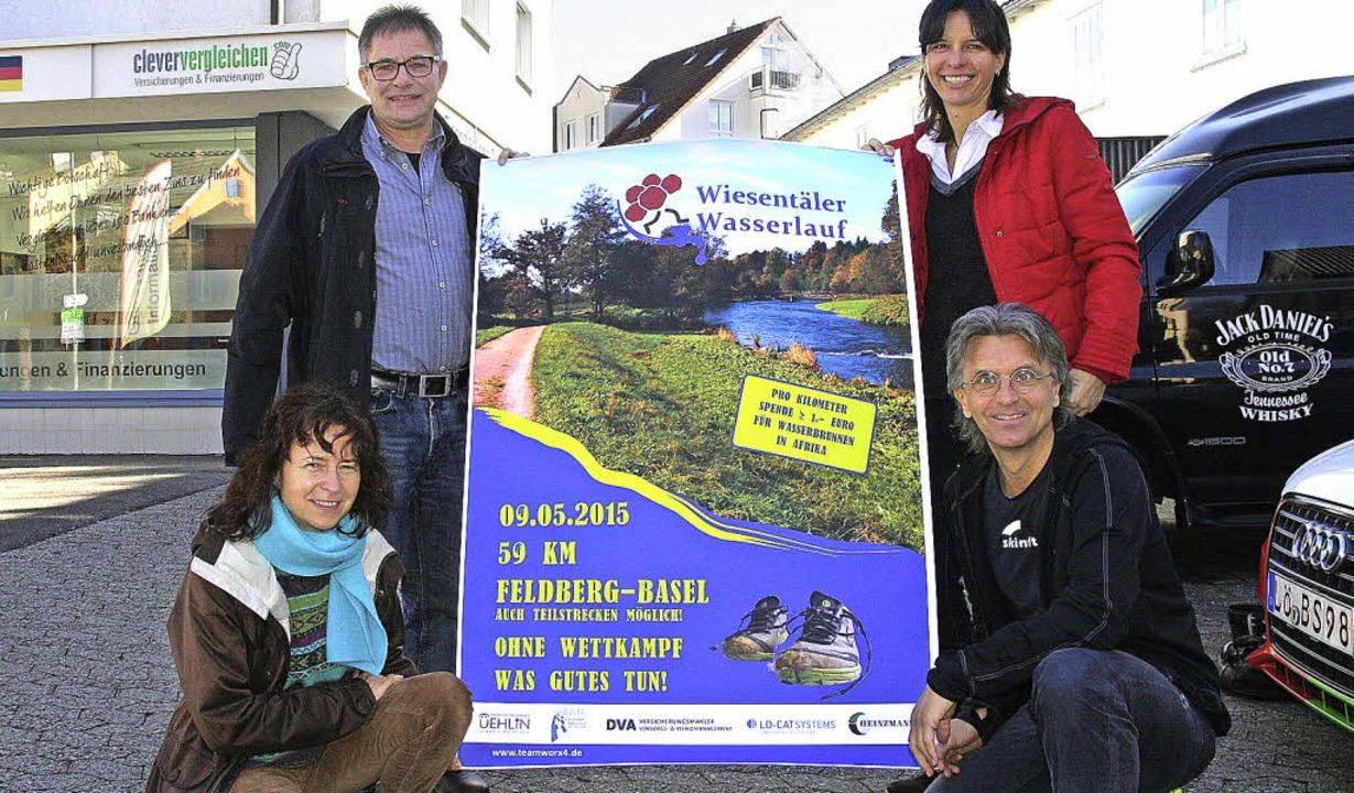 Freuen sich auf viele Teilnehmer: Die ...ts) Jürgen Wetzel und Nicole Grether.   | Foto: Marlies Jung-Knoblich